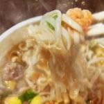 カップヌードル・カップ麺・インスタントラーメンのシズル、フォトグラファーから見た、インスタント麺のフード・料理撮影