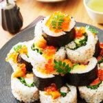 お寿司のタワー 料理撮影・フード撮影